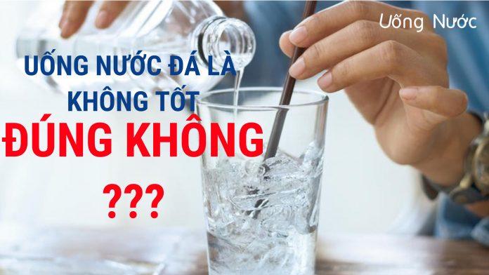 uống nước đá nhiều có tốt không