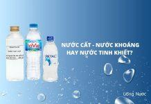 Phân biệt nước cất, nước khoáng, nước tinh khiết