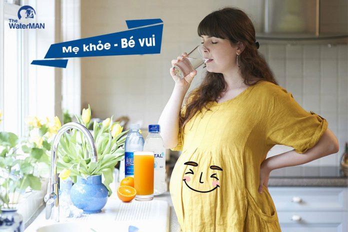 Những loại nước mẹ bầu nên uống