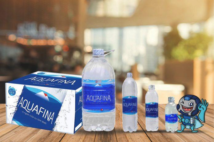 Các sản phẩm của nước tinh khiết Aquafina