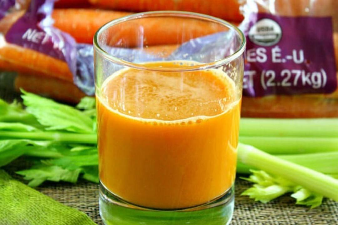 Nước cần tây cà rốt có vô vàn lợi ích đối với cơ thể