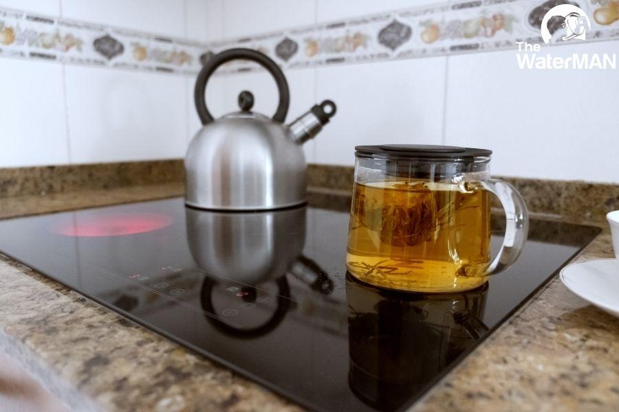 Ngâm trà olong