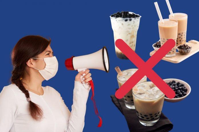 Tác hại của trà sữa
