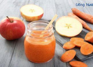 Nước ép táo cà rốt cam