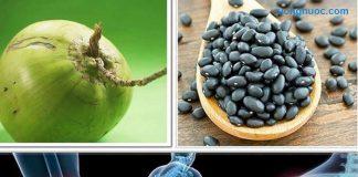 Cách làm đậu đen chưng nước dừa trị dứt điểm đau khớp