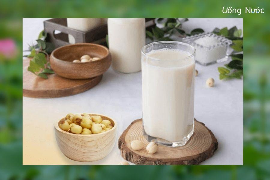 Sữa hạt sen phù hợp với nhiều đối tượng sử dụng
