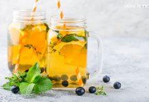 Công thức nước detox cam và việt quất